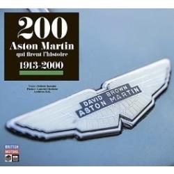 200 ASTON MARTIN QUI FIRENT L'HISTOIRE
