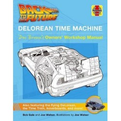 BACK TO THE FUTURE DE LOREAN TIME MACHINE DOC BROWN'S OWM