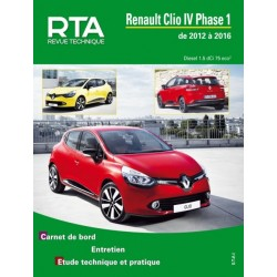 TAP423 RENAULT CLIO IV 1.5dCi 75ch 2012-2016