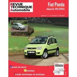 RTAB706 FIAT PANDA + 4X4 ESS/DIESEL DEPUIS 09/2003