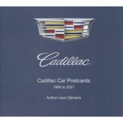 CADILLAC CAR POSTCARDS 1964 TO 2021