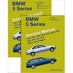 BMW 5 - SERIES SERVICE MANUAL 1997-2003 - E39 SERVICE MANUAL