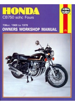 HONDA CB750 SOHC FOURS 1969-79 -OWNERS WORKSHOP MANUAL