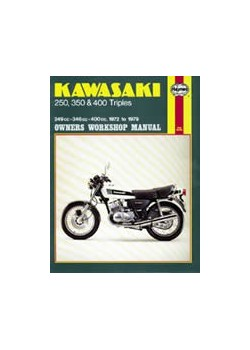 KAWASAKI 250 , 350 & 400 TRIPLES 1972-79 - OWNERS WORKSHOP MANUAL