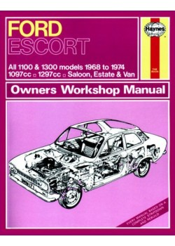 FORD ESCORT MKI 1100 & 1300 1968-74 - OWNERS WORKSHOP MANUAL