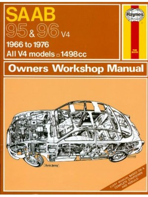 SAAB 95 & 96 1966-76 - OWNERS WORKSHOP MANUAL