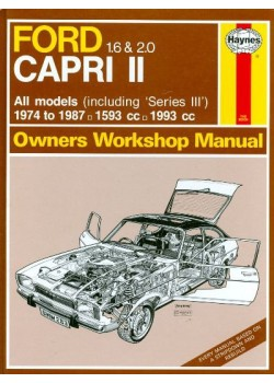 FORD CAPRI II 1.6 & 2.0 1974-87 - OWNERS WORKSHOP MANUAL