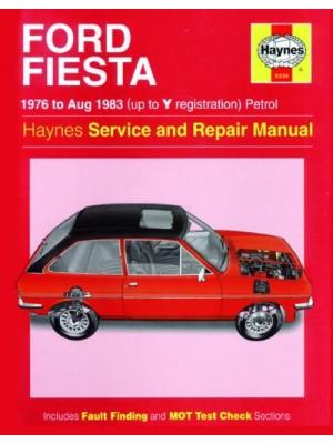 FORD FIESTA PETROL 1976-83 - OWNERS WORKSHOP MANUAL