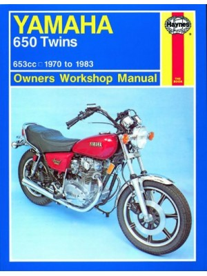 YAMAHA 650 TWINS 1970-83 - OWNERS WORSHOP MANUAL