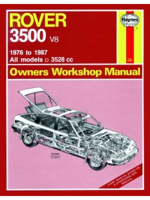 ROVER 3500 1976-87 - OWNERS WORKSHOP MANUAL