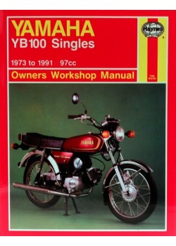 YAMAHA YB100 SINGLES 1973-91 - OWNERS WORKSHOP MANUAL