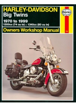 HARLEY DAVIDSON BIG TWINS 1970-99 - OWNERS WORKSHOP MANUAL