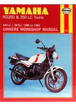 YAMAHA RD 250 & 350LC TWINS 1980-82 - OWNERS WORKSHOP MANUAL
