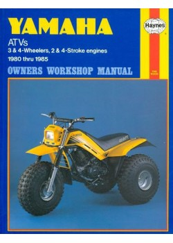 YAMAHA ATVS 3&4 WHEELERS 1980-85 - OWNERS WORKSHOP MANUAL