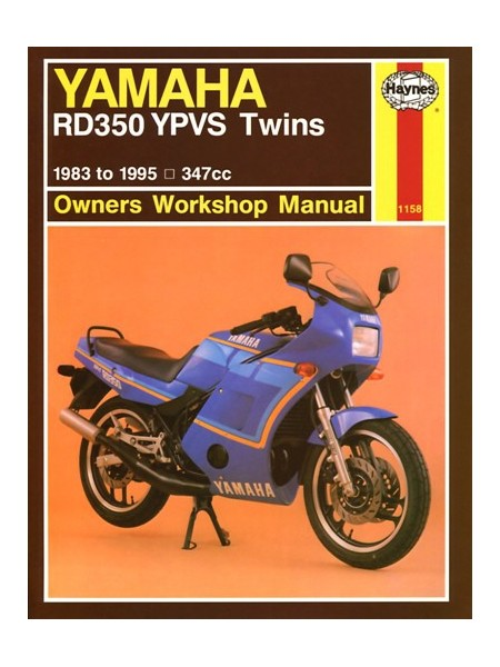 YAMAHA  RD350 YPVS TWINS 1983-95 - OWNERS WORKSHOP MANUAL