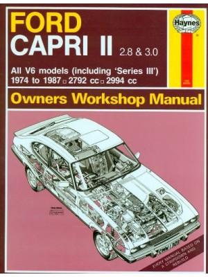 FORD CAPRI II & III 2.8 & 3.0 74-87 OWNERS WORKSHOP MANUAL