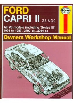 FORD CAPRI II & III 2.8 & 3.0 74-87 OWNERS WORKSHOP MANUAL