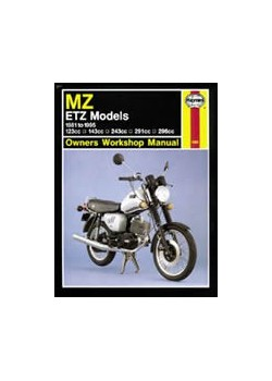MZ ETZ MODELS 1981-95 - OWNERS WORKSHOP MANUAL