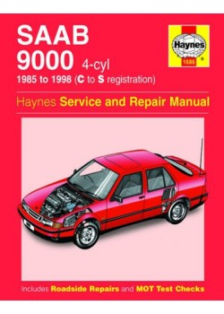 SAAB 9000 4 CYL 1985/98 - HAYNES SERVICE AND REPAIR MANUAL