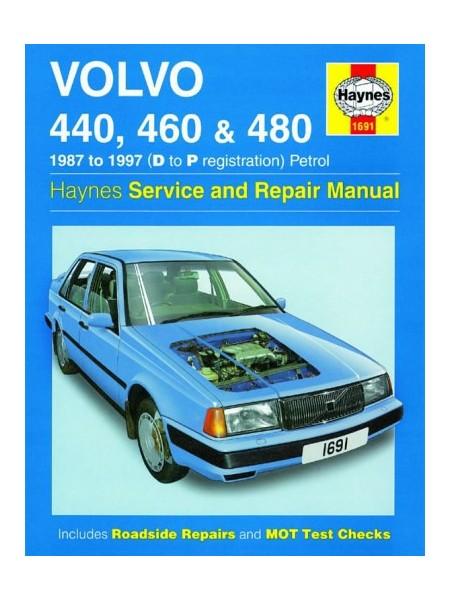 VOLVO 440 460 480 PETROL 1987-97 - HAYNES SERVICE AND REPAIR MANUAL