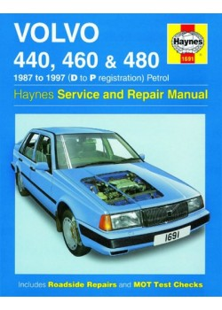 VOLVO 440 460 480 PETROL 1987-97 - HAYNES SERVICE AND REPAIR MANUAL