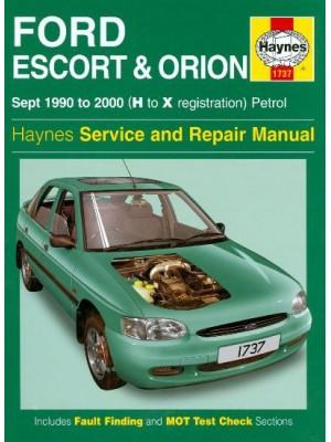 FORD ESCORT & ORION 09/90-2000 HAYNES SERVICE AND REPAIR MANUAL
