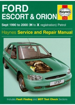 FORD ESCORT & ORION 09/90-2000 HAYNES SERVICE AND REPAIR MANUAL