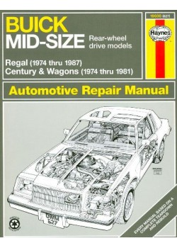 BUICK MID SIZE RWD 74-87 AUTOMOTIVE REPAIR MANUAL