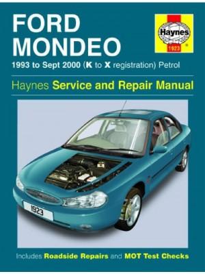 FORD MONDEO PETROL 1993-2000 - OWNERS WORKSHOP MANUAL