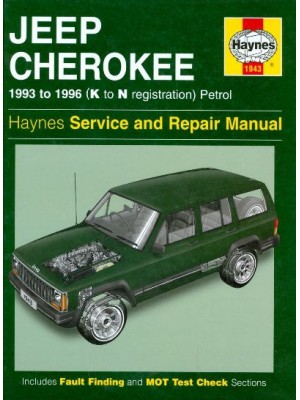 JEEP CHEROKEE PETROL 1993-96 HAYNES SERVICE AND REPAIR MANUAL