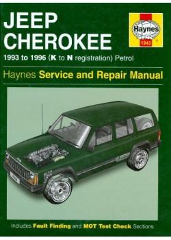JEEP CHEROKEE PETROL 1993-96 HAYNES SERVICE AND REPAIR MANUAL