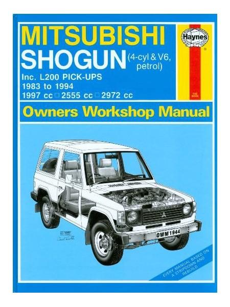 MITSUBISHI SHOGUN & L200 PETROL 83-94 OWNERS WORSHOP MANUAL