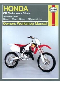 HONDA CR MOTOCROSS BIKES 1986-07 - OWNERS WORKSHOP MANUAL