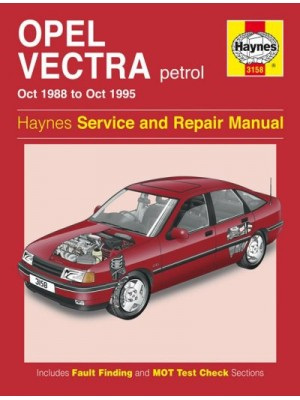OPEL VECTRA PETROL 1988-95 - OWNERS WORKSHOP MANUAL