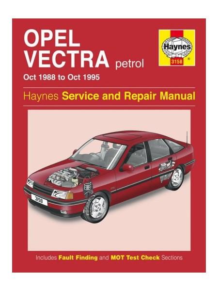 OPEL VECTRA PETROL 1988-95 - OWNERS WORKSHOP MANUAL