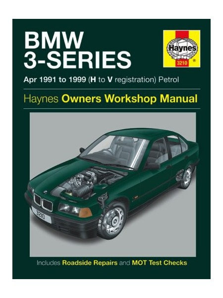 BMW 3-SERIES E36 4 & 6 CYL 1991-99 - OWNERS WORKSHOP MANUAL