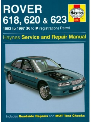 ROVER 618 620 & 623 1993-97 PETROL HAYNES SERVICE AND REPAIR MANUAL