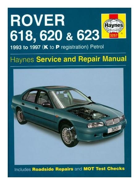 ROVER 618 620 & 623 1993-97 PETROL HAYNES SERVICE AND REPAIR MANUAL