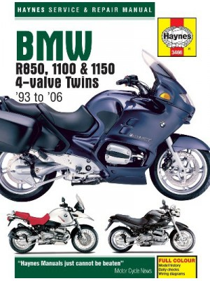 BMW R850, 1100 & 1150 4-VALVE TWINS 1993-06 SERVICE & REPAIR MANUAL