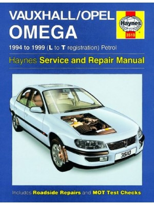 OPEL / VAUXHALL OMEGA PETROL 1994-99 - OWNERS WORKSHOP MANUAL