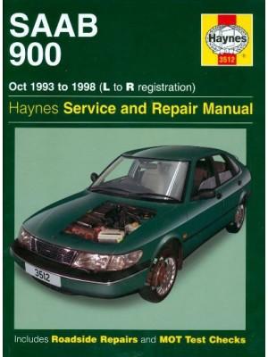 SAAB 900 10/1993-98 - HAYNES SERVICE AND REPAIR MANUAL