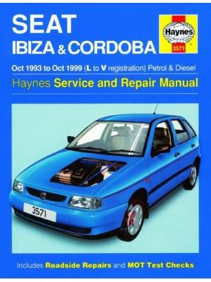 SEAT IBIZA & CORDOBA PETROL & DIESEL 1993-99 - OWNERS WORKSHOP MANUAL