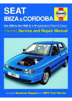 SEAT IBIZA & CORDOBA PETROL & DIESEL 1993-99 - OWNERS WORKSHOP MANUAL