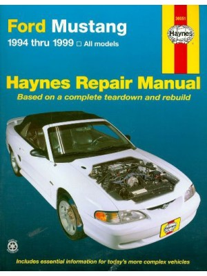 FORD MUSTANG 1994-99 HAYNES REPAIR MANUAL