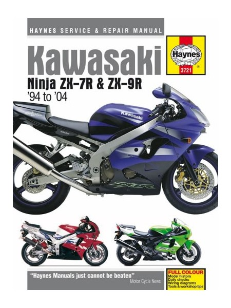 KAWASAKI NINJA ZX-7R & ZX-9R 1994-04 - SERVICE & REPAIR MANUAL
