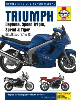 TRIUMPH DAYTONA SPEED TRIPLE INJECTION 1997-05 - SERV. & REPAIR MANUA