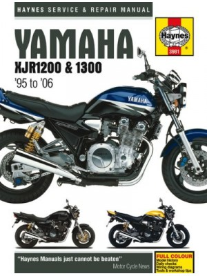 YAMAHA XJR1200 & 1300 1995-06 - SERVICE & REPAIR MANUAL