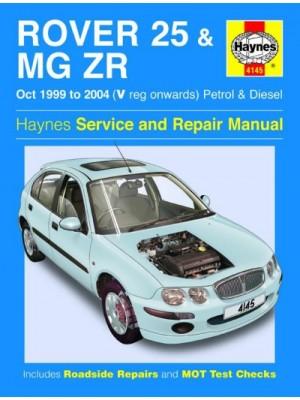 ROVER 25 & MG ZR PETROL & DIESEL 1999-04 - HAYNES OWNERS WORSHOP ...