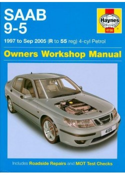 SAAB 9-5 4CYL PETROL 1997-2005 - OWNERS WORKSHOP MANUAL