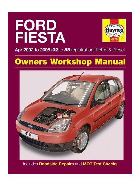 FORD FIESTA PETROL & DIESEL 2002-08 - OWNERS WORKSHOP MANUAL